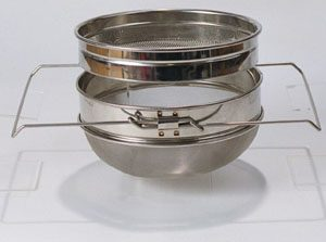 Double Sieve (Stainless steel)