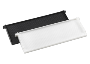 6″ White Pierco Complete Frame